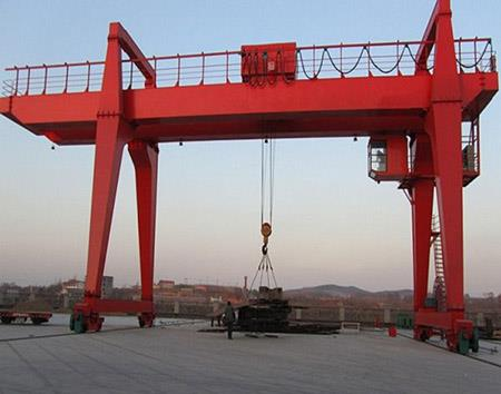 20t Double Girder Electric Gantry Crane, Portal Crane, Rail Crane.jpg