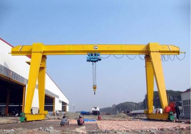 20 Ton Mobile Single Girder Gantry Cranee
