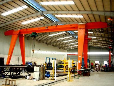 5 Ton Mobile Single Girder Gantry Crane